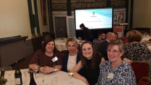 Sheffield Mind finance team enjoy a big night out!