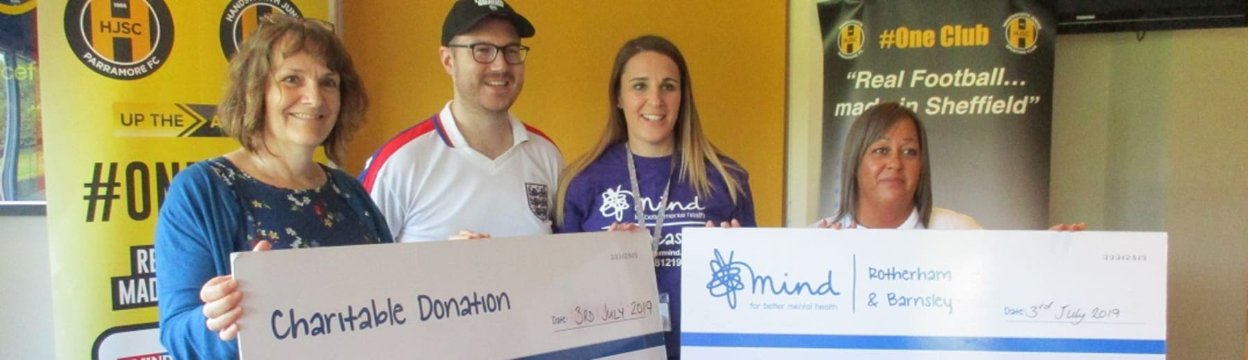 Radio Sheffield's Adam Oxley is a fundraising hero!
